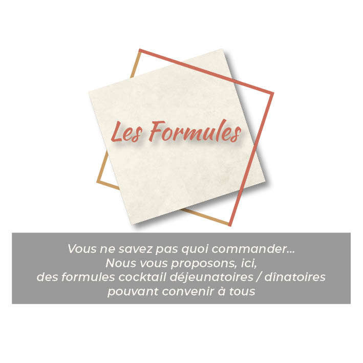 Formules cocktail