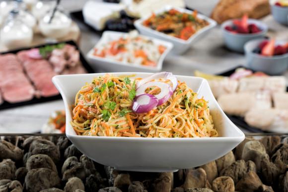Salade de crudités en rémoulade (1 kg)