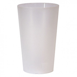 Verre en plastique givré réutilisable (50cl)
