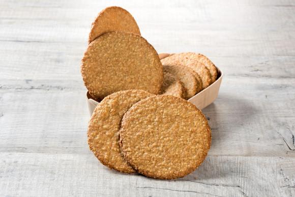 Coffret de 10 Biscuits au sarrazin et flocons d'avoine