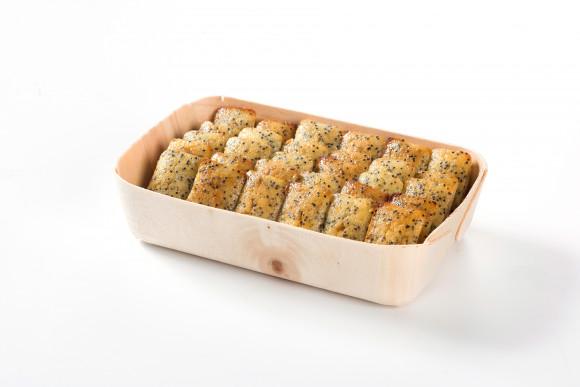 Coffret de 30 Mini cakes citron vert et pavot