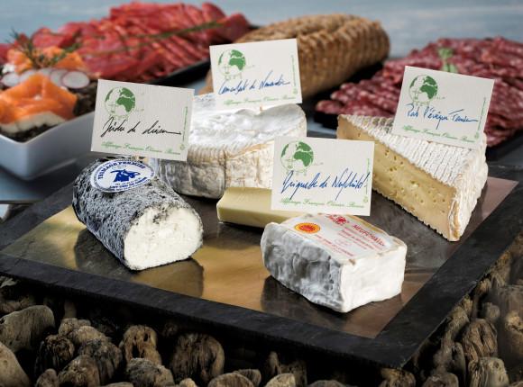 Plateau de fromages normands affinés en cave par maître Olivier