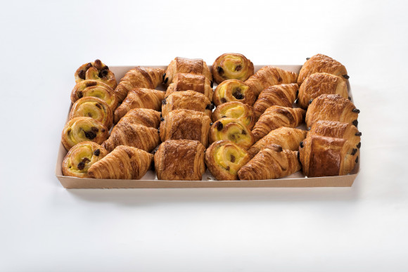 Plateau de 30 Mini viennoiseries assorties