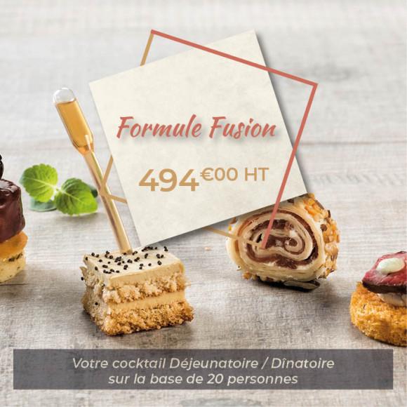 Cocktail Déjeunatoire/Dînatoire «Fusion»