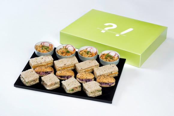 Coffret A partager DIY (Végétarien) (16 pièces salées)