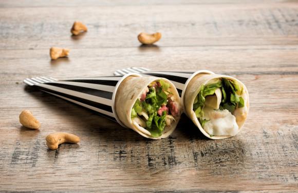 Coffret Street food Hiver (Wraps) (22 pièces salées)