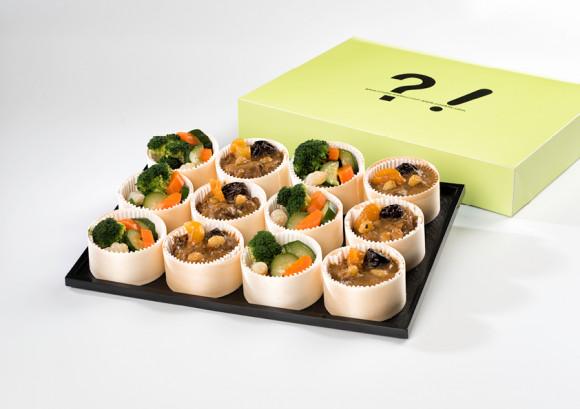 Coffret Nature (à réchauffer) (12 boîtes lunch)