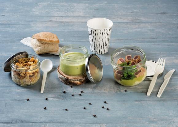 «Bois» (Soupe petits pois/Steack de thon/Fruits)