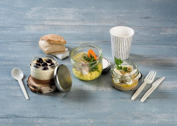 «Osier» (Caviar d'aubergine/Cabillaud/Biscuit cake)