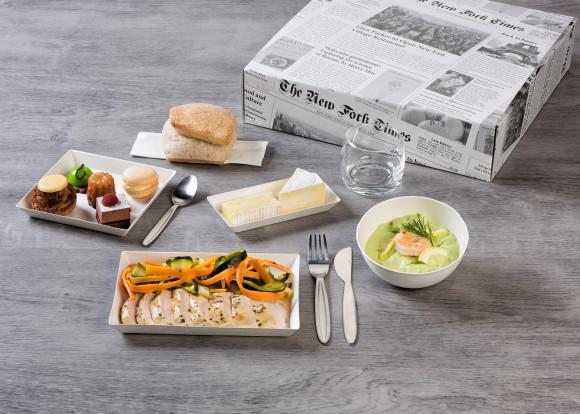 «Rotin» (Salade crevettes/Poulet/Mignardises)