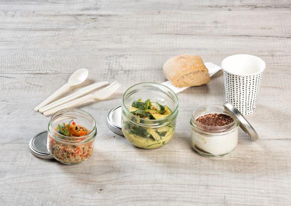 «QUAI DE SEINE» (Quinoa/Courgette/Tiramisu) Végan